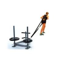 Сани тренировочные с петлями для кросфита Zel SLED (CF6236)