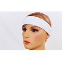 Повязка на голову спортивная для бега, фитнеса безразмерная Zelart (CO-6259)