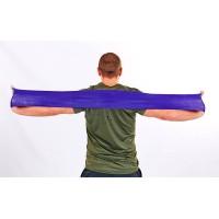 Резинка для фитнеса и спорта (лента эспандер) эластичная 840х100х0,4мм Zel (FI-6668-2)