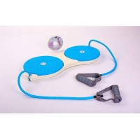 Диски здоровья с эспандерами 25см Zel DOUBLE TWISTER (PS P-709)