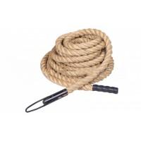 Канат спортивный для лазанья из сизаля 38мм 15м Zel (SRP001-1)