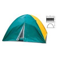 Палатка кемпинговая 6-и местная 2,2х2,5х1,5м Zel (SY-021)