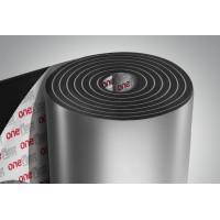 Вспененный каучук фольгированный 32мм с липким слоем