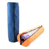 Чехол для коврика, каремата для йоги, фитнеса и туризма на молнии Onhillsport OXFORD 18 см 600D (DN-6005)