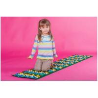 Массажный ортопедический коврик развивающий детский с камнями Стандарт 200*40см