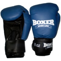 Перчатки боксерские из кожвинила Boxer Элит 8 унций (bx-0039)