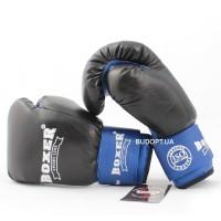 Перчатки боксерские Boxer 12 унций, комбинированные