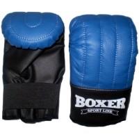 Перчатки тренировочные из кожвинила Boxer Элит L (bx-0042)