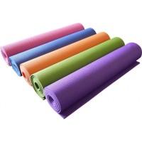 Коврик для йоги и фитнеса FITNESS YOGA MAT, толщина 6мм