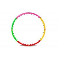 Обруч хулахуп массажный Hop-Sport 40 шариков (1007)