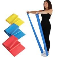 Резинка для фитнеса и спорта (лента эспандер) эластичная 150см (3шт) Profi (MS 1483)