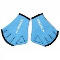 Перчатки для аквафитнеса Speedo Aqua Glove синие, р-р S