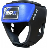 Боксерский шлем RDX Blue new