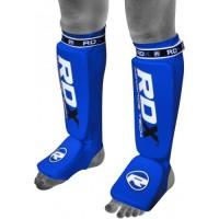 Накладки на ноги, защита голени RDX Soft Blue