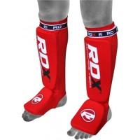 Накладки на ноги, защита голени RDX Soft Red