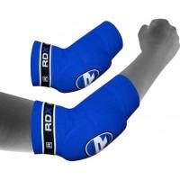 Налокотники для тайского бокса RDX Soft Blue (2 шт.)