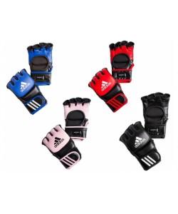 Перчатки ADIDAS MMA Leather, 12327, ADICSG041-bk, ADIDAS, Перчатки для рукопашного боя, каратэ