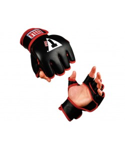 Перчатки c открытой ладонью TITLE Classic MMA NHB Open Palm, , CMMNHB, TITLE, Перчатки для рукопашного боя, каратэ