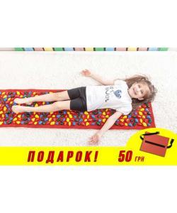 Массажный (ортопедический) коврик дорожка для детей с камнями Onhillsport 100*40см (MS-1215), 00-00002748, MS-1215, Onhillsport, Товары для красоты и здоровья