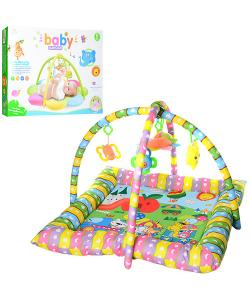 Детский (игровой) развивающий коврик для ползания ребенка 80х80 см Bambi (PE916), 19062, PE916, Bambi, Развивающие коврики для детей
