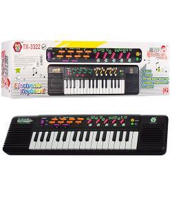 Синтезатор детский (пианино детское) на 32 клавишы, 12 мелодий 44х12х5см Bambi (TX-3322), , TX-3322, Bambi, Детские игрушки