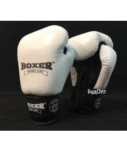 Детские боксерские перчатки кожаные Boxer 8 унций (bx-0029), , bx-0029, Boxer, Тренировочные перчатки