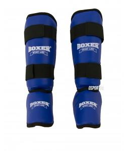 Защита голени и стопы из кожзама Элит Boxer L (bx-0047), , bx-0047, Boxer, Защитная экипировка