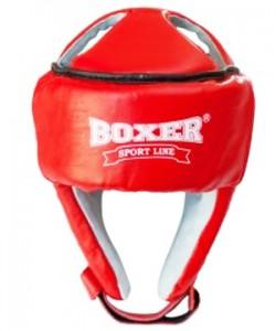 Шлем для каратэ кожаный Элит Boxer L (bx-0046)