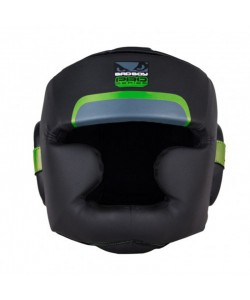 Боксерский шлем Bad Boy Pro Series 3.0 Full Green, , 220303, Bad Boy, Шлемы для единоборств