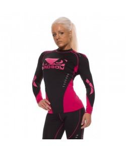 Рашгард женский с длинным рукавом Bad Boy Sphere Black/Pink, , 230009, Bad Boy, Рашгарды