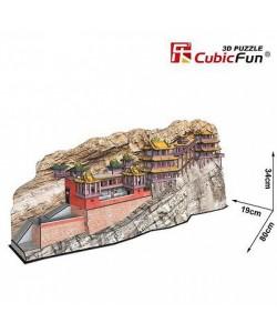Трехмерная головоломка конструктор СВИСАЮЩИЙ МОНАСТЫРЬ СЮАНЬКУН СИ CubicFun (MC204h)