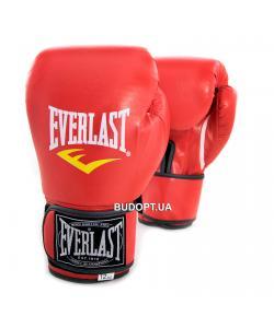Перчатки боксерские Кожа PU Everlast BO-3987 (8-12 унций), , BO-3987, EVERLAST, Тренировочные перчатки