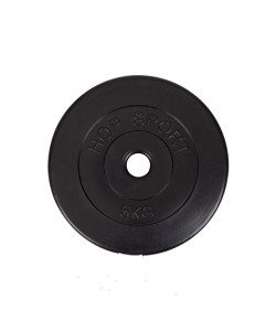 Композитный диск для штанги Hop-Sport 5 кг, 13316, HS-D3, Hop-Sport, Штанги