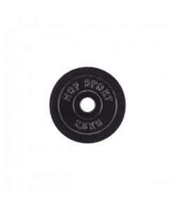 Диск чугунный Hop-Sport Strong 2,5 кг, 13319, HS-D6, Hop-Sport, Блины и диски