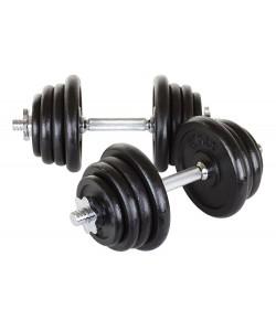 Гантели металлические Hop-Sport 2х20 кг, 13329, HS-G6, Hop-Sport, Гантели наборные