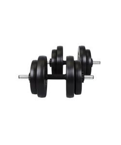 Гантели композитные Hop-Sport 2х15 кг