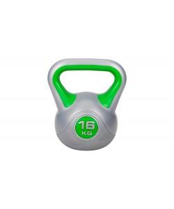 Гиря Hop-Sport винил 16 кг, 13341, HS-G18, Hop-Sport, Гири