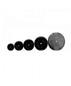 Диск InterAtletika черный Ф26мм 0,5кг, 14913, SТ520-1, InterAtletika, Блины и диски