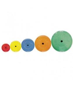 Диск InterAtletika цветной Ф26мм 0,5кг, 14918, SТ521-1, InterAtletika, Блины и диски