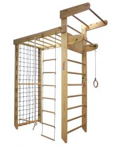 Игровой комплекс (деревянный) InterAtletika SТ026.4, , SТ026.4, InterAtletika, Шведская стенка