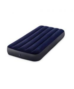 Матрас-кровать надувной пляжный одноместный для отдыха, дома и пляжа 191x76см Intex (64756), 20567, 64756, Intex, Матрасы надувные, пляжные