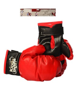 Детские боксерские перчатки (для бокса) на липучке 25см Kings Sport (M 2919), , M 2919, Kings Sport, Детские боксерские перчатки
