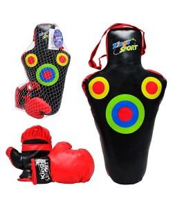 Детский набор для бокса Kings Sport (M 1045), , M 1045, Kings Sport, Детский боксерский набор