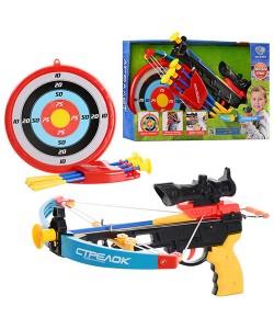 Детский Арбалет в наборе с мишенью LIMO TOY (M 0010), , M 0010, LIMO TOY, Детские игрушки