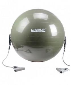 Фитбол с эспандером LiveUp GYM BALL WITH EXPANDER, , LS3227, LiveUp, Мячи для фитнеса