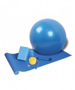 Набор для йоги LiveUp TRAINING SET с фитболом