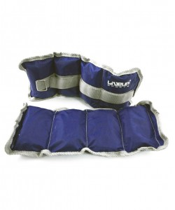 Утяжелитель LiveUp WRIST/ANKLE WEIGHT LS3011, 1 кг, , LS3011-1, LiveUp, Утяжелители