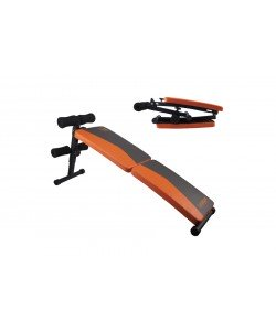 Раскладная скамья для пресса FITNESS SIT-UP BENCH LS1209, 120 см, 15157, LS1209, LiveUp, Скамья для жима