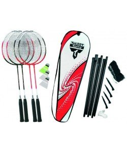 Бадминтон Talbot Torro Badminton Set 4 Attacker Plus 449515, 16355, 449515, Talbot Torro, Бадминтон, спидминтон