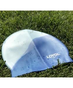 Cиликоновая шапочка для плавания Loyol Радуга (CM404)